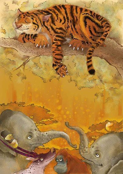 Odważny Tygrys Krystyna Marczak